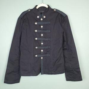 Criminal Damage Black Guard Jacket Size XL